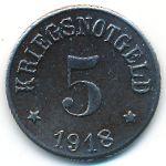 Рот., 5 пфеннигов (1918 г.)