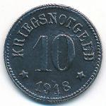 Рот., 10 пфеннигов (1918 г.)