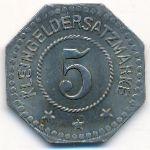 Торгау., 5 пфеннигов (1917 г.)