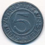Траунштайн., 5 пфеннигов (1918 г.)