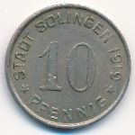 Золинген., 10 пфеннигов (1919 г.)