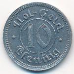 Зоннеберг., 10 пфеннигов (1921 г.)
