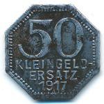 Тюбинген., 50 пфеннигов (1917 г.)