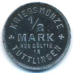Тутлинген., 1/2 марки (1918 г.)
