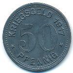 Вальд., 50 пфеннигов (1917 г.)