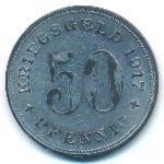 Ваттеншайд., 50 пфеннигов (1917 г.)