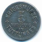 Тутлинген., 5 пфеннигов (1917 г.)
