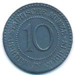 Урдинген-на-Рейне., 10 пфеннигов (1917 г.)