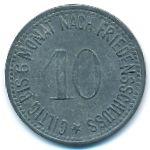 Вассербург., 10 пфеннигов (1917 г.)