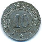 Вайда., 10 пфеннигов (1918 г.)