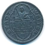 Веттер., 50 пфеннигов (1917 г.)