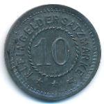 Цайц., 10 пфеннигов (1919 г.)
