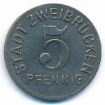Цвайбрюккен., 5 пфеннигов (1919 г.)