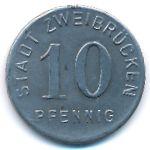 Цвайбрюккен., 10 пфеннигов (1919 г.)