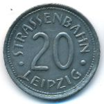 Лейпциг., 20 пфеннигов