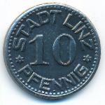 Линц., 10 пфеннигов