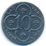 Лаутербах., 10 пфеннигов (1917 г.)