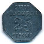 Мюльхайм., 25 пфеннигов (1917 г.)