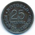 Остербург., 25 пфеннигов (1920 г.)