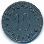 Ной-Ульм., 10 пфеннигов (1917 г.)