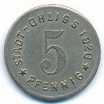 Олигс., 5 пфеннигов (1920 г.)