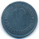 Пегниц., 10 пфеннигов (1917 г.)