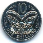 Новая Зеландия, 10 центов (1968 г.)