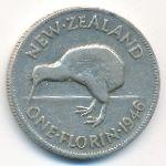 Новая Зеландия, 1 флорин (1946 г.)