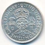 Великобритания, 2 шиллинга (1942 г.)
