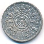Великобритания, 2 шиллинга (1964 г.)