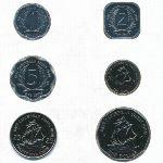 Восточные Карибы, Набор монет (1999 г.)