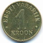 Эстония, 1 крона (2000 г.)