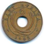 Восточная Африка, 5 центов (1942 г.)