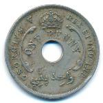 Британская Западная Африка, 1 пенни (1920 г.)