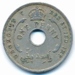 Британская Западная Африка, 1 пенни (1928 г.)