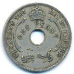 Британская Западная Африка, 1 пенни (1936 г.)