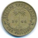 Британская Западная Африка, 1 шиллинг (1946 г.)