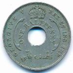 Британская Западная Африка, 1/2 пенни (1932 г.)