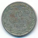 Либерия, 10 центов (1977 г.)
