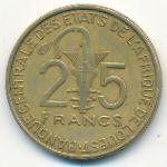 Западная Африка, 25 франков (2012 г.)
