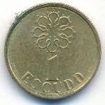 Португалия, 1 эскудо (1988–1999 г.)