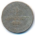 Ганновер, 1/2 гроша (1858 г.)