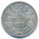Бавария, 1 крейцер (1871 г.)