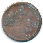 Юлих-Берг, 1/4 стюбера (1784 г.)