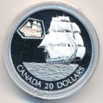Канада, 20 долларов (2001 г.)