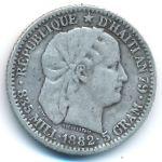 Гаити, 20 сентим (1882 г.)