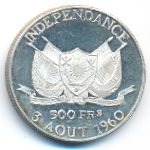 Нигер, 500 франков (1960 г.)