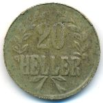 Немецкая Африка, 20 геллеров (1916 г.)