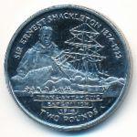 Южная Джорджия и Южные Сэндвичевы острова, 2 фунта (2004 г.)