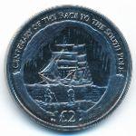 Южная Джорджия и Южные Сэндвичевы острова, 2 фунта (2010 г.)